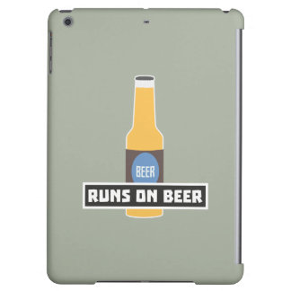 Runs on Beer Z7ta2 Case For iPad Air