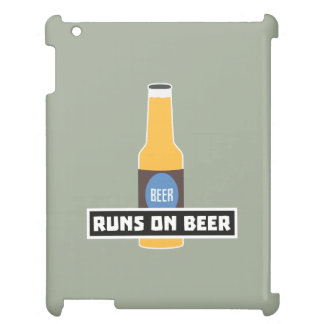 Runs on Beer Z7ta2 Case For The iPad