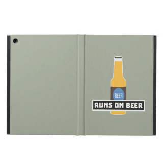 Runs on Beer Z7ta2 Cover For iPad Air