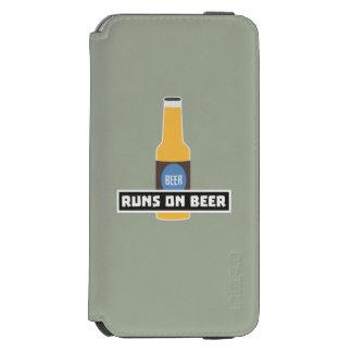 Runs on Beer Z7ta2 Incipio Watson™ iPhone 6 Wallet Case