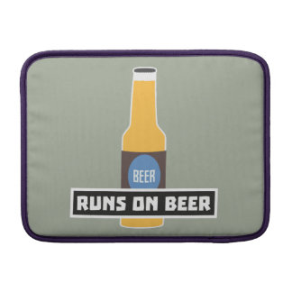 Runs on Beer Z7ta2 Sleeve For MacBook Air