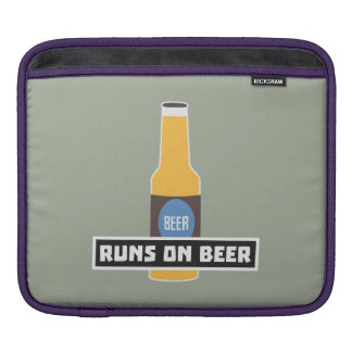 Runs on Beer Z7ta2 Sleeves For iPads