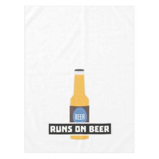 Runs on Beer Z7ta2 Tablecloth