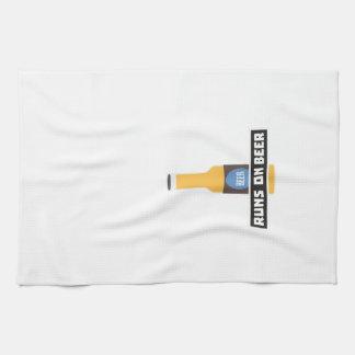 Runs on Beer Z7ta2 Tea Towel