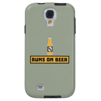 Runs on Beer Zmk10 Galaxy S4 Case