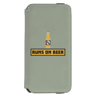 Runs on Beer Zmk10 Incipio Watson™ iPhone 6 Wallet Case