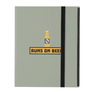 Runs on Beer Zmk10 iPad Cover