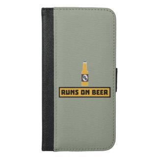 Runs on Beer Zmk10 iPhone 6/6s Plus Wallet Case