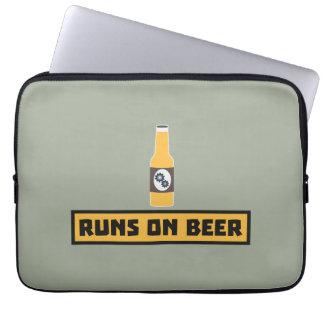 Runs on Beer Zmk10 Laptop Computer Sleeves
