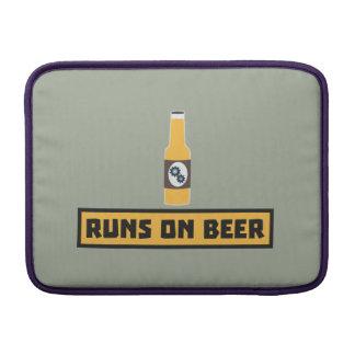 Runs on Beer Zmk10 MacBook Air Sleeves