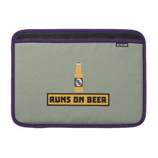 Runs on Beer Zmk10 MacBook Sleeve