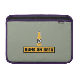 Runs on Beer Zmk10 MacBook Sleeves