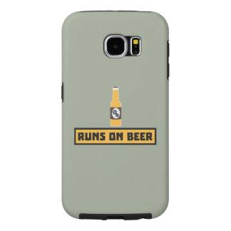 Runs on Beer Zmk10 Samsung Galaxy S6 Cases