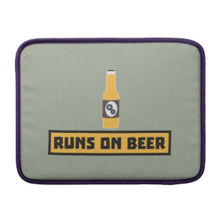 Runs on Beer Zmk10 Sleeve For MacBook Air