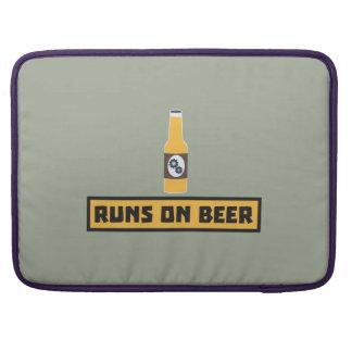 Runs on Beer Zmk10 Sleeves For MacBook Pro