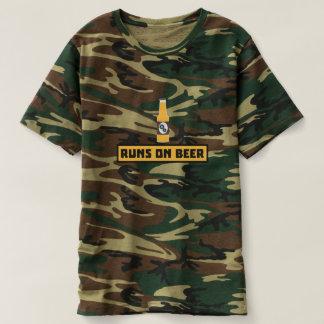 Runs on Beer Zmk10 T-Shirt