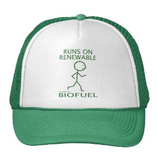 Runs On Renewable Biofuel Cap
