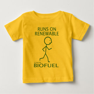 Runs On Renewable Biofuel Shirts