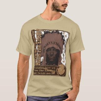 Runs the Enemy Two Kettle Lakota Warrior T-Shirt