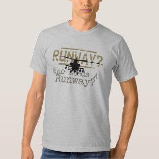 Runway? Who Needs a Runway? Tshirt