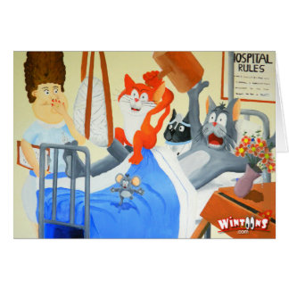Rupert and Twinkles at the Hospital - Card