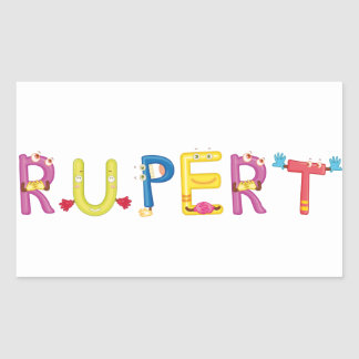 Rupert Sticker