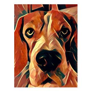 Rupert the Beagle Dog Post Card