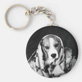 Rupert the Beagle Puppy Dog Key Ring Basic Round Button Key Ring
