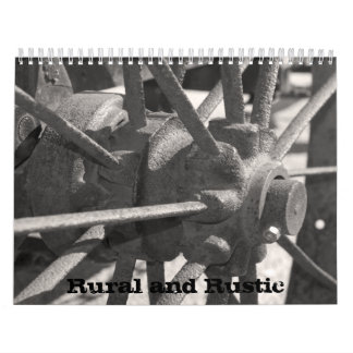 Rural and Rustic Wall Calendars