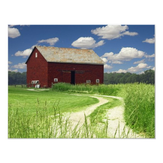 Rural Barn Card