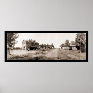 Rural Geneva NY Photo 1913 Poster