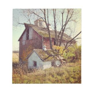 Rural Illinois Barn Notepad