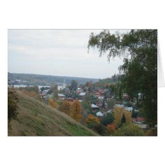 rural landscape card