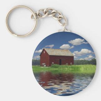 Rural Landscape Key Ring