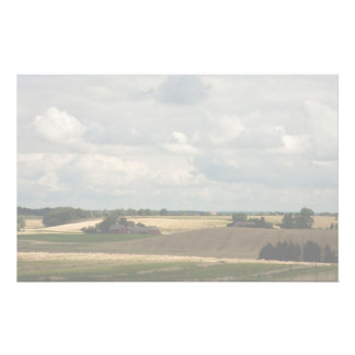 Rural landscape stationery