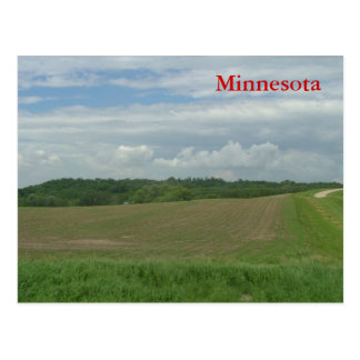 Rural Minnesota Postcard