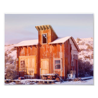 Rural Montana Country Rustic Old Wood ranch Photo Print