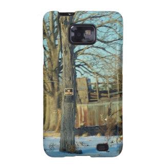 Rural NC Snow Scene Samsung Galaxy SII Case