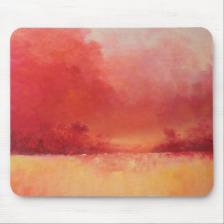 Rural Retreat in Oil Mouse Pad
