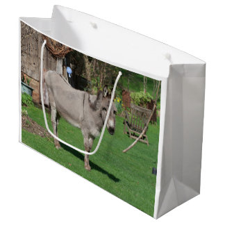 Rural Still Life With Donkey Large Gift Bag