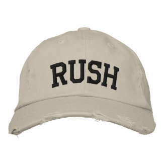 Rush Embroidered Hat Embroidered Baseball Caps