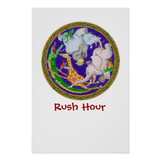 Rush Hour Posters