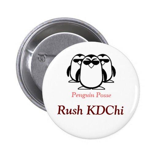 Rush KDChi Pinback Button