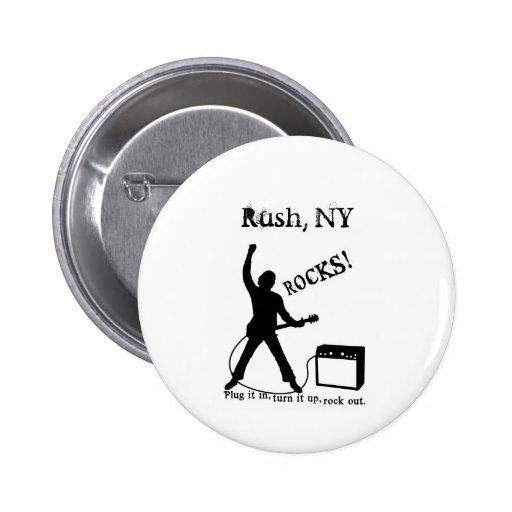 Rush, NY Pins