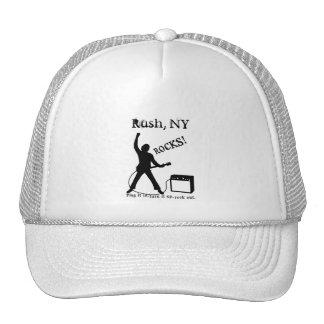 Rush, NY Trucker Hat