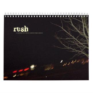 rush wall calendars
