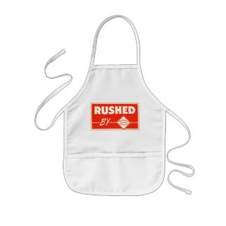 Rushed By Railway Express Agency Apron