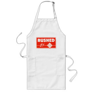 Rushed By Railway Express Agency Long Apron