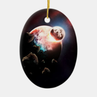 Rushing At You Ornament