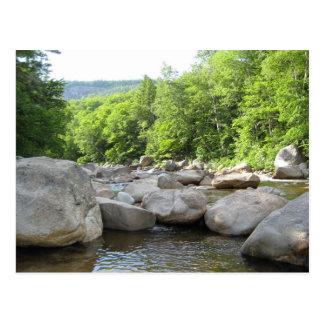 Rushing River - North Conway, NH Postcard